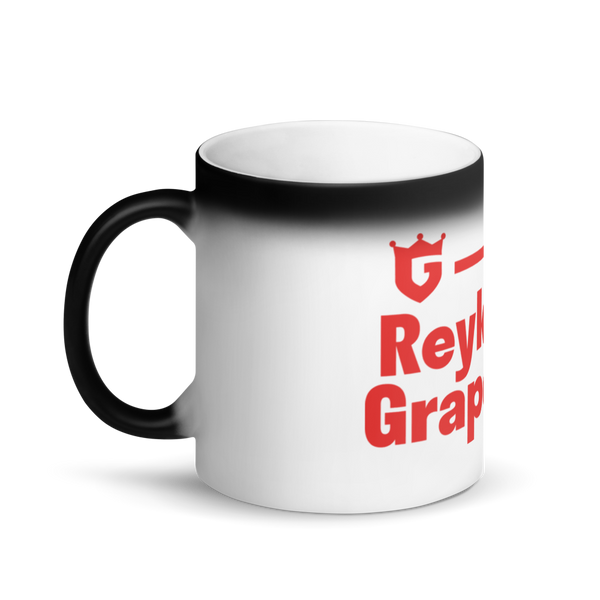 Secretly Grapevine - Matte Black Magic Mug