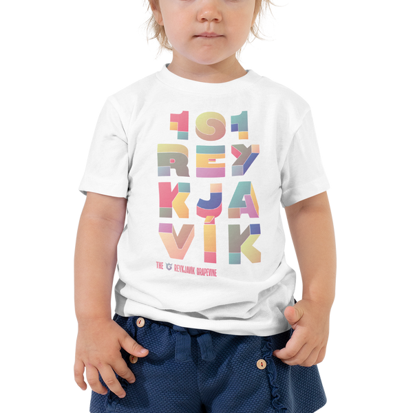 Toddler Short Sleeve 101 Tee