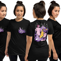 Kosmonatka 'Purple Lagoon' 2-side Unisex T-Shirt