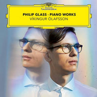 Víkingur Ólafsson - Glass: Piano Works - Free Grapevine with Víkingur on cover (limited)