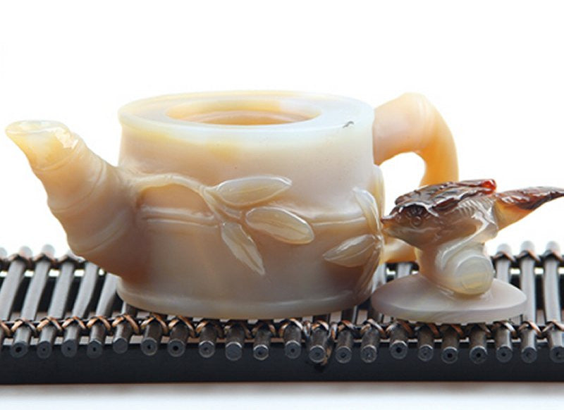 Natural Agate Teapot