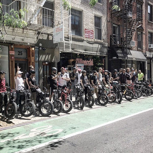 Super73 NYC Summer Group Ride