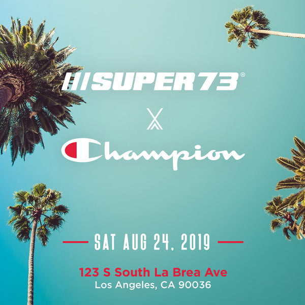 Super73 x Champion Group Ride: Los Angeles