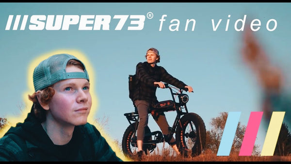 "Super73 Fan Giveaway Winner! ""The Last Ride"""