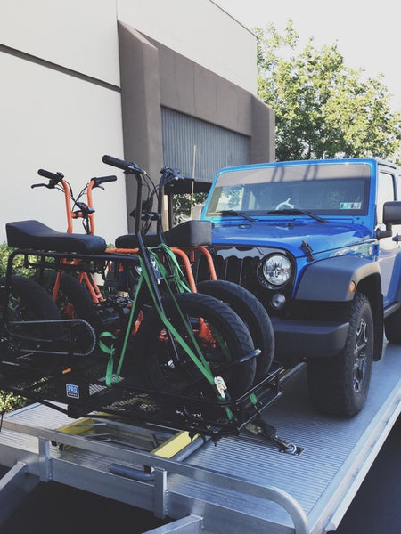 Super 73 rig for RV by Lithium Cycles Kickstarter Electric Bike