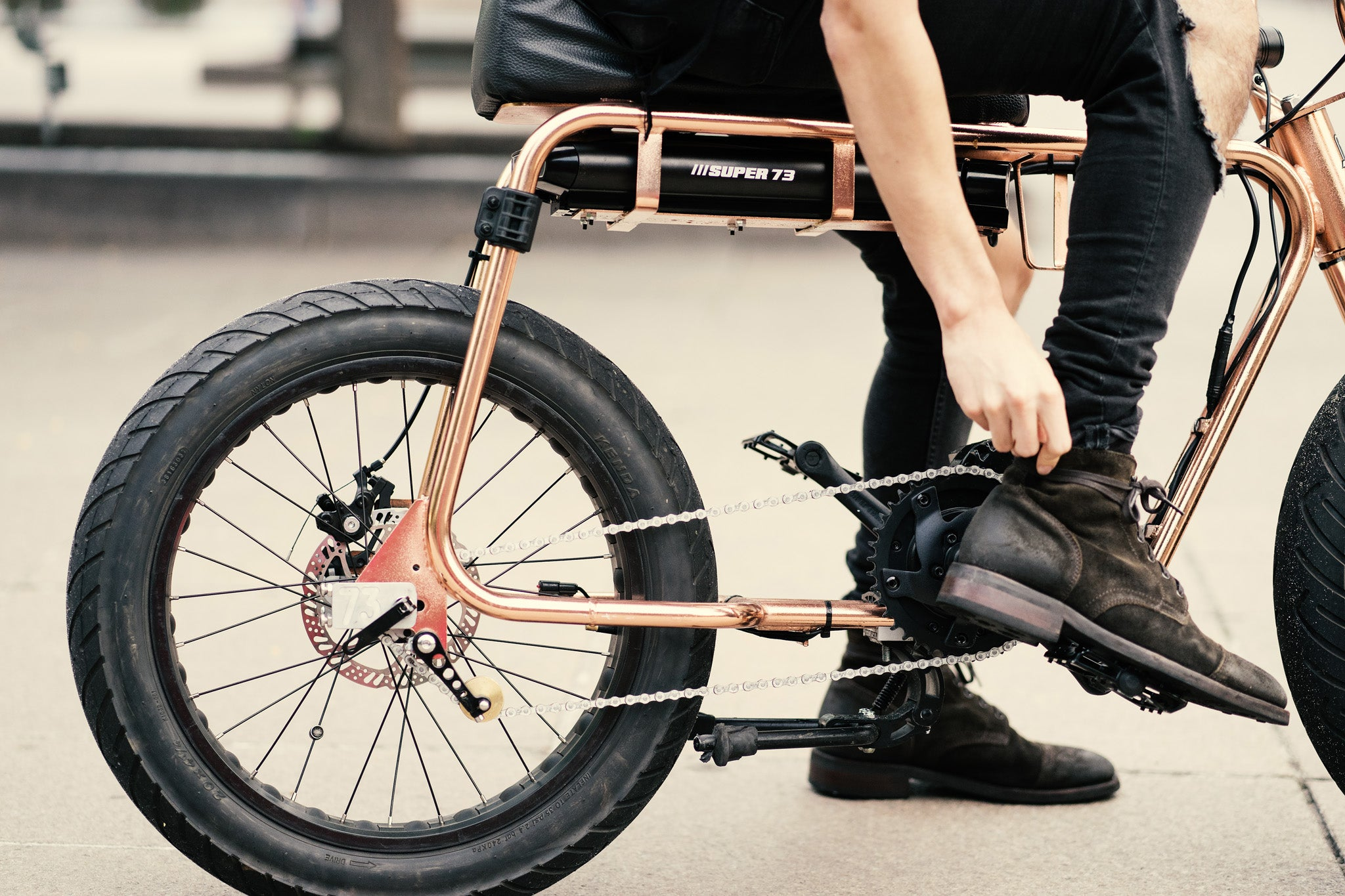 Super 73 Copper Electric Bike @shootwithx