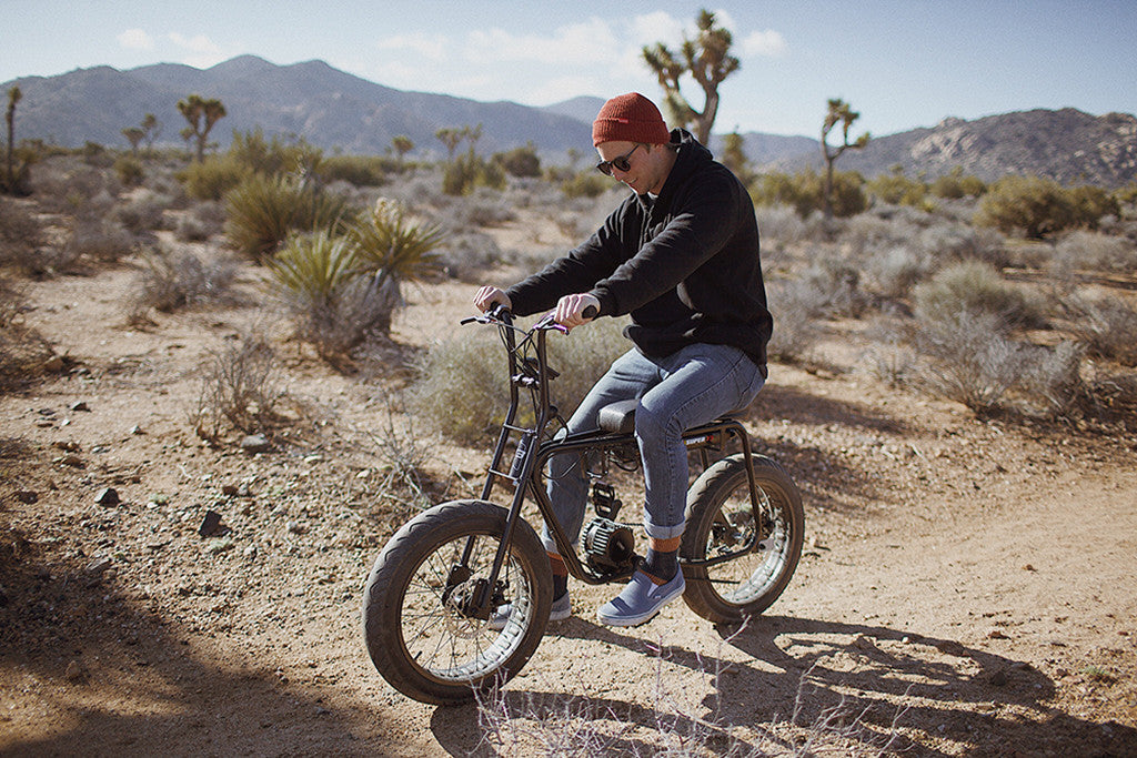 Seager x Super 73 Electric Bike Collaboration Orange County