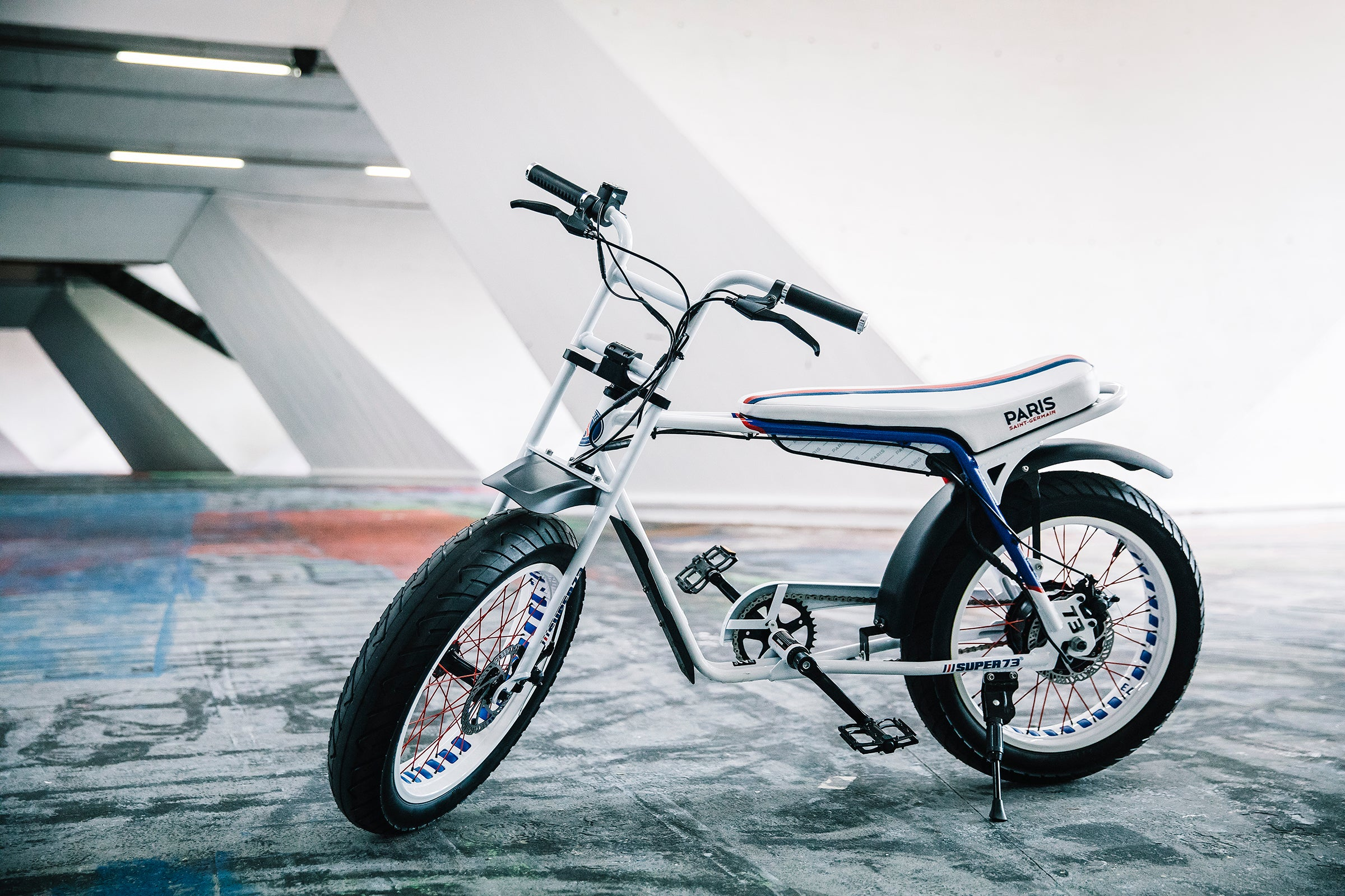 PSG x Super73-Z electric bike collab ebike