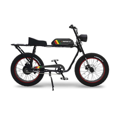 SUPER73-S1 Rasta Battery Decal Kit