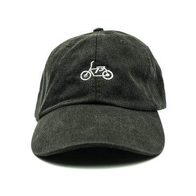 SUPER73 Dad Hat - Washed Black