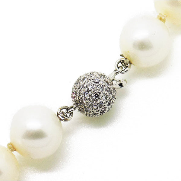 Pre-Loved Cultured Freshwater Pearl Necklace Fastening
