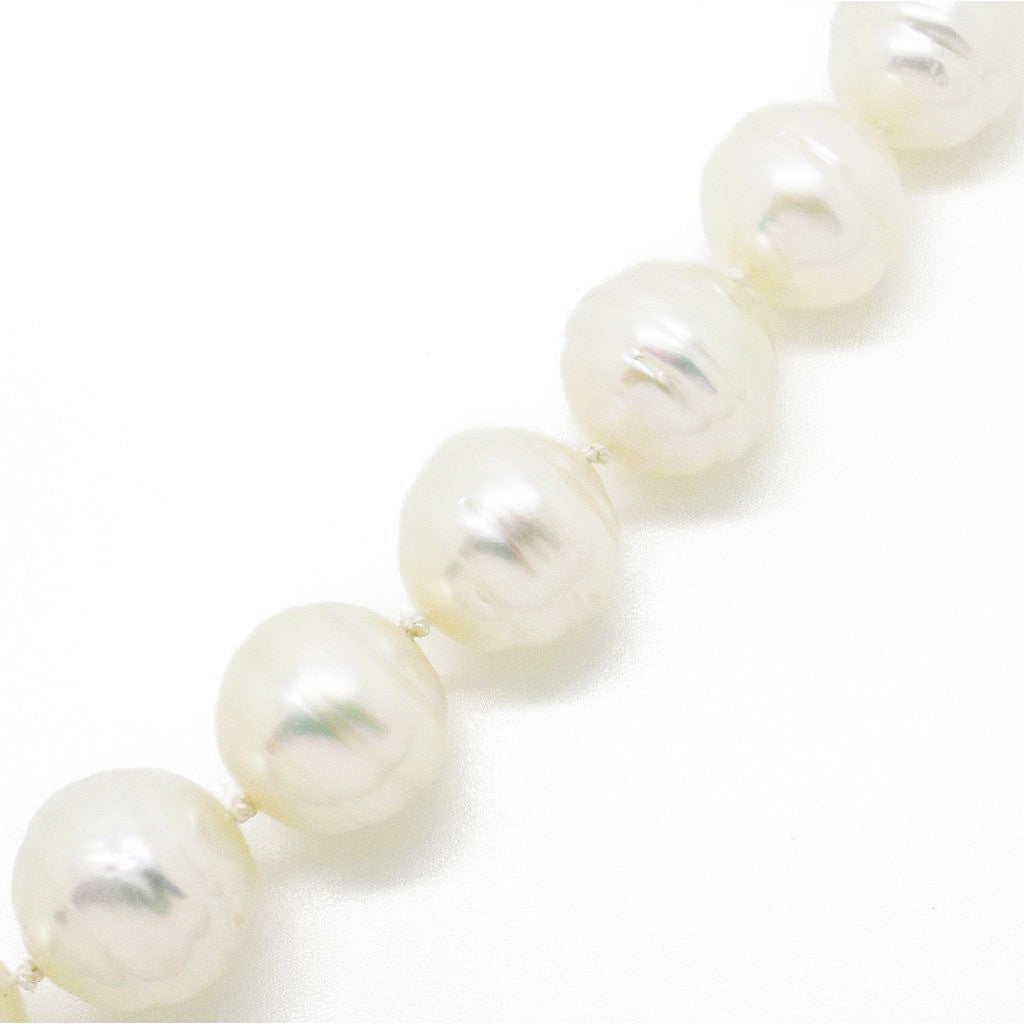 Pre-Loved Graduated Baroque, Cultured South Sea Pearl Necklace Detail