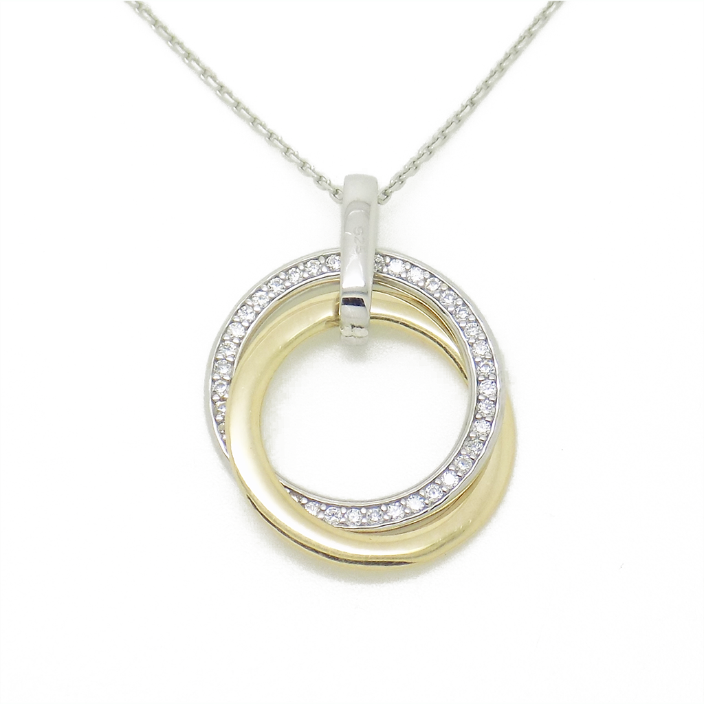 from small products silver collection necklace double etched new emerge pendant s hoop c diana sl porter