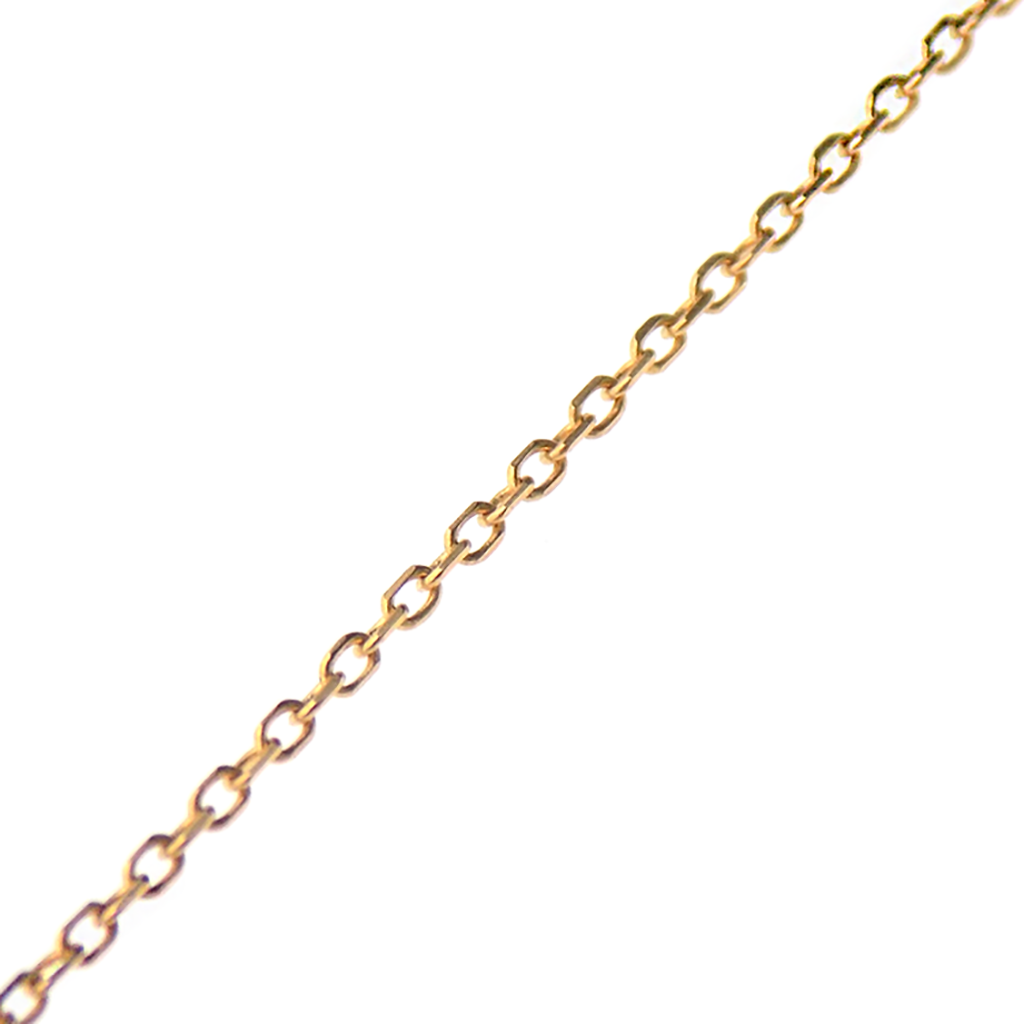 "9ct Yellow Gold 16"" Trace Chain"