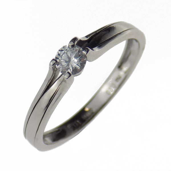 Pre-Loved 18ct White Gold 0.20ct Diamond Ring