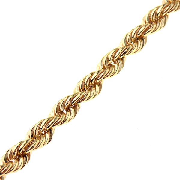 "9ct Yellow Gold 18"" Hollow Rope Chain"