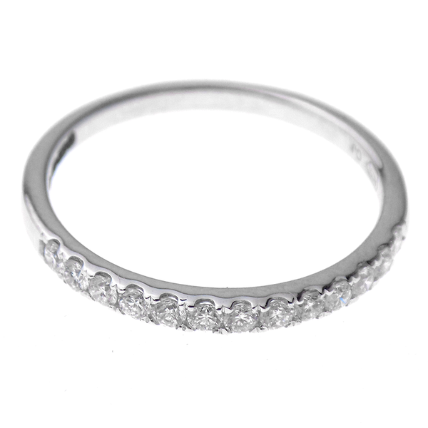 18ct White Gold 0.29ct Diamond Eternity Ring Front
