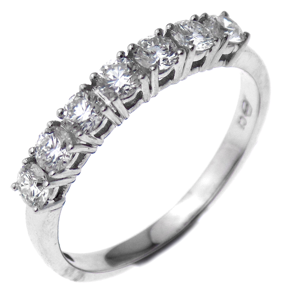 18ct White Gold 0.65ct Diamond Eternity Ring