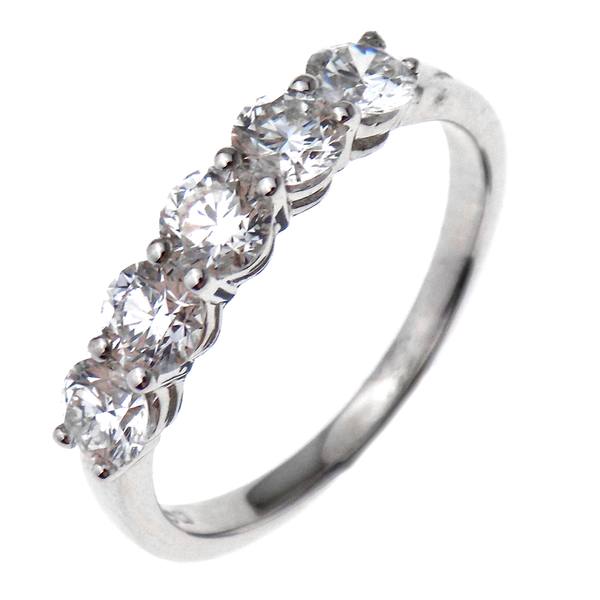 18ct White Gold 1.22ct Diamond Eternity Ring