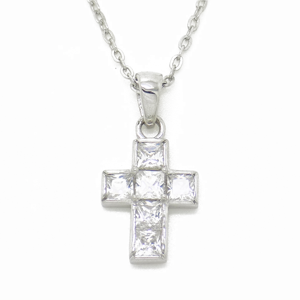 cross girls jesus stainless com inri chain silver necklace pendant fashion item women men for buyincoins square crucifix rolo steel