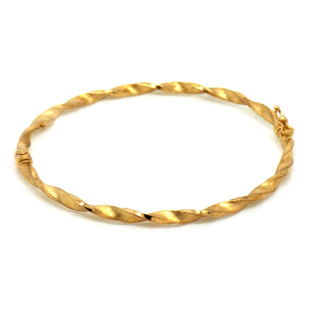 gold link hollow yellow bracelet oval products the atkinsons white