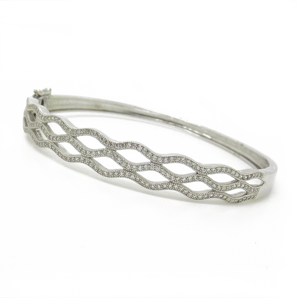 silver bangle bracelets bangles htm jewellery