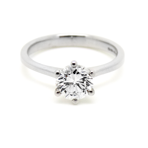 18ct White Gold 1.15ct Single Stone Diamond Ring