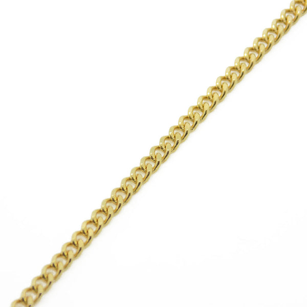 "9ct Yellow Gold 16"" Curb Chain"