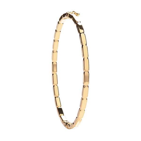 9ct Yellow Gold Fancy Bangle