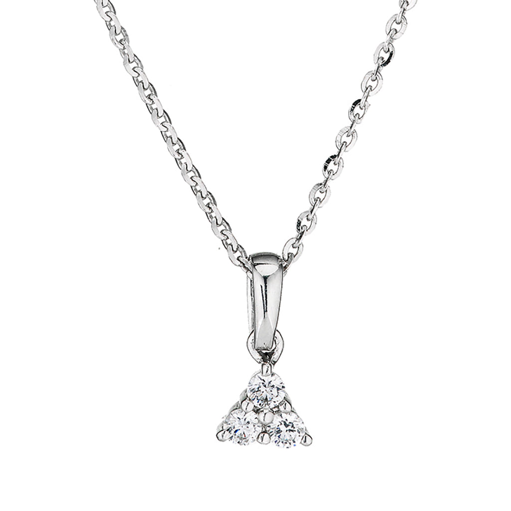 gerry pendant uk pendants necklaces browne triangular products burren jewellers from image