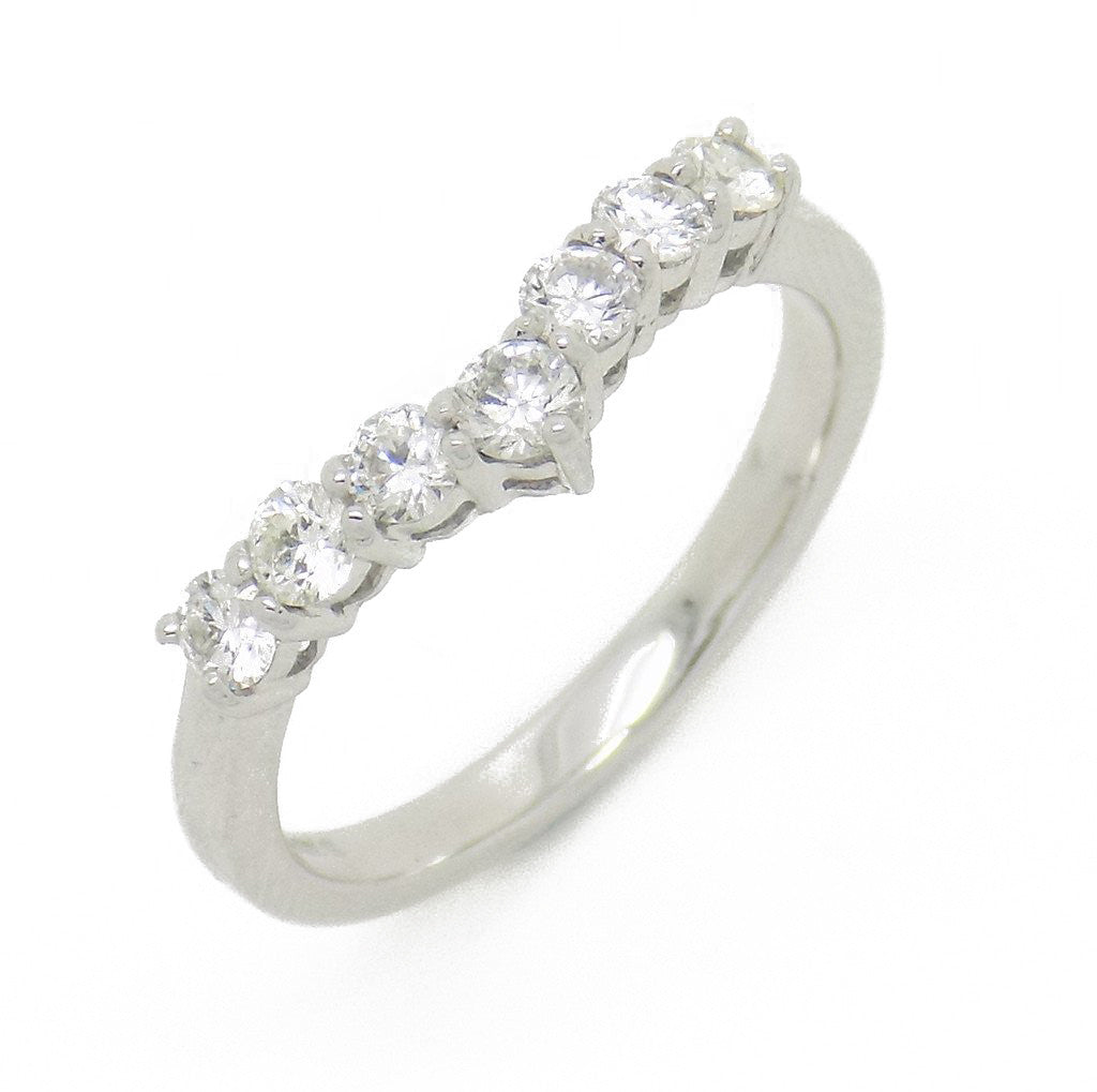 in band yellow gold stone ring diamond wedding rings product