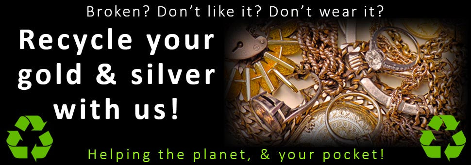 Recycle & sell your gold & silver jewellery to us