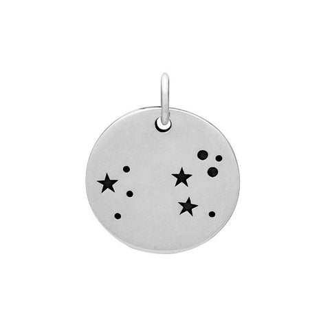 LEO CONSTELLATION CHARM STERLING SILVER