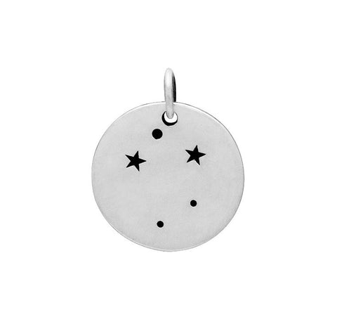 LIBRA CONSTELLATION CHARM STERLING SILVER
