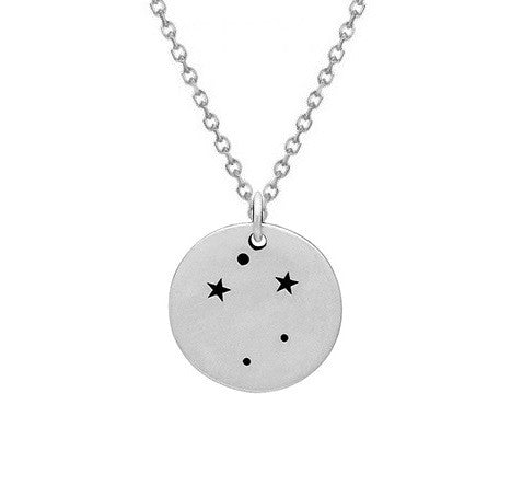 LIBRA CONSTELLATION NECKLACE STERLING SILVER