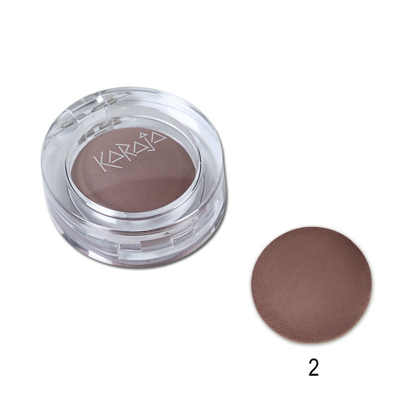 Karaja Aquamatt Eyeshadow Powder Natural Brown