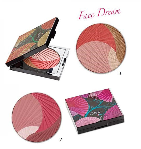 Karaja Face Dream Blush No.01 and 02