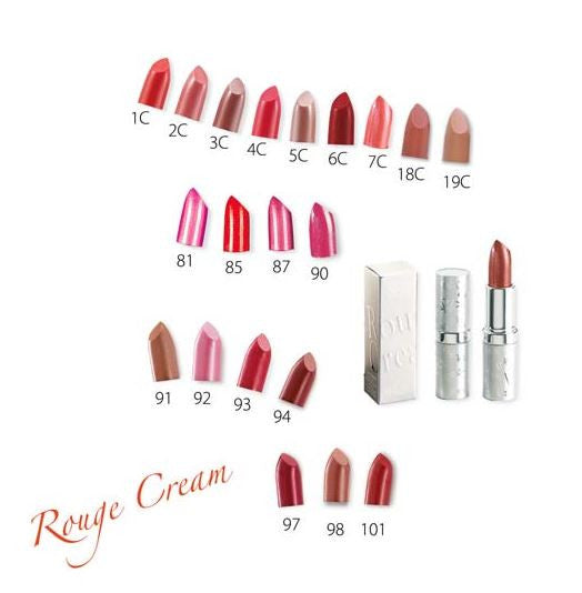 Karaja rogue cream radiant lipstick 18 colors