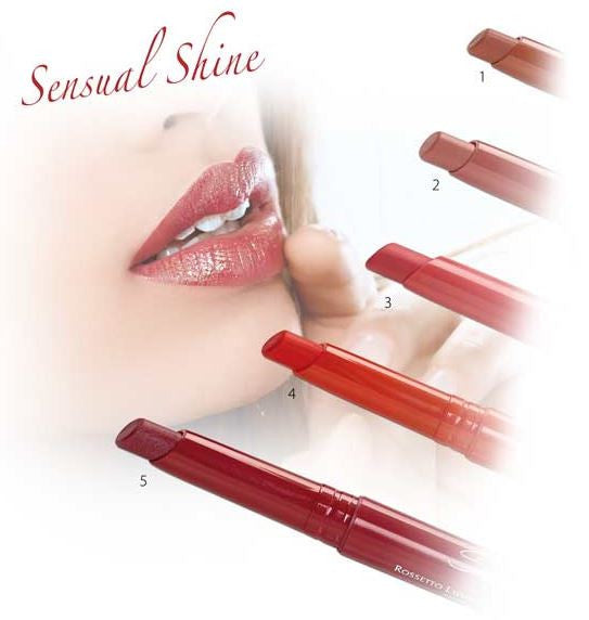 Karaja Sensual Shine Lipstick Waterproof Long lasting & Glossy 5 Colors
