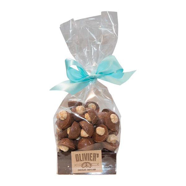 Milk Chocolate Footballs Roasted Hazelnut (180g)