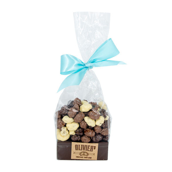 Mixed Chocolate Covered Roasted Hazelnuts  (xxxg)