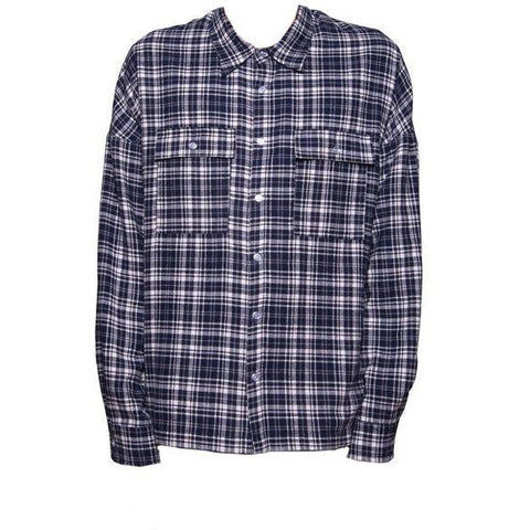 Blue Flannel Jacket