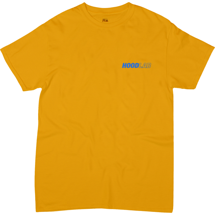 Diazo Tee / yellow - Retrograde Concept Store