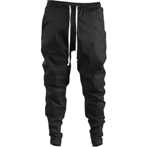 Ergoi Cotton Poplin Sweatpants / black