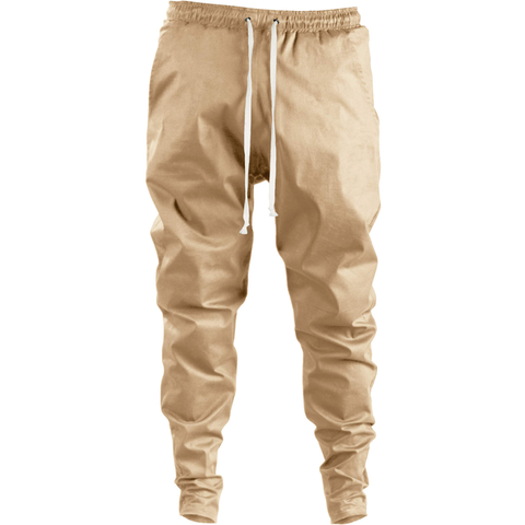 Ergoi Cotton Poplin Sweatpants / beige