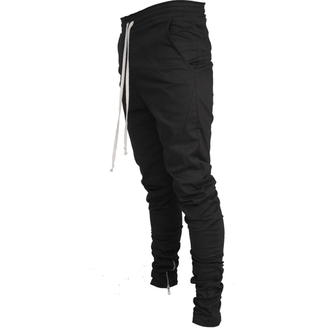 Lantz Twill Pants / black