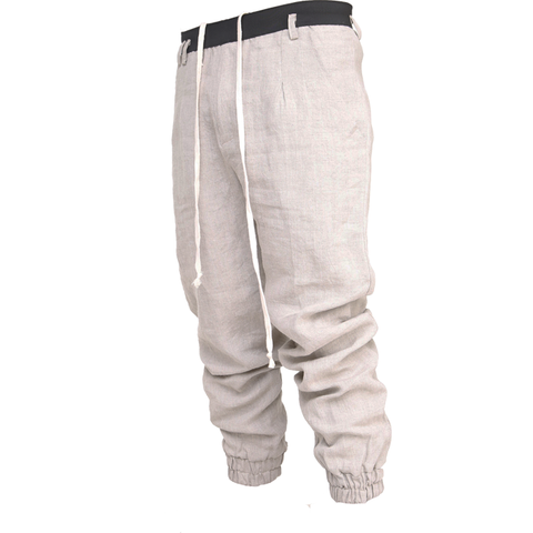 Eugi Linen Wide Pants