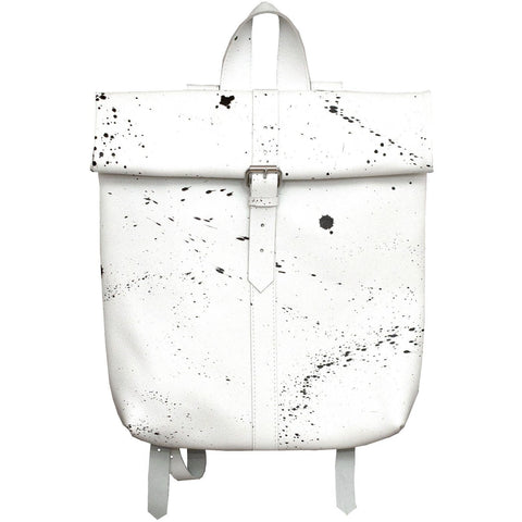 Big Buckle Rollitbag / white spattered
