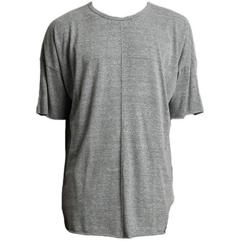 Oversize Tee / heather grey