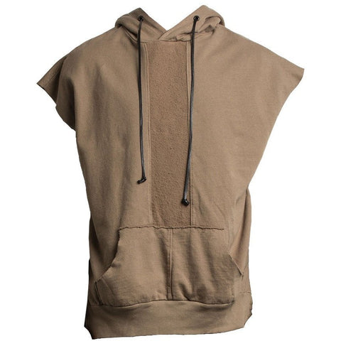 Road Hood Sleeveless / antelope
